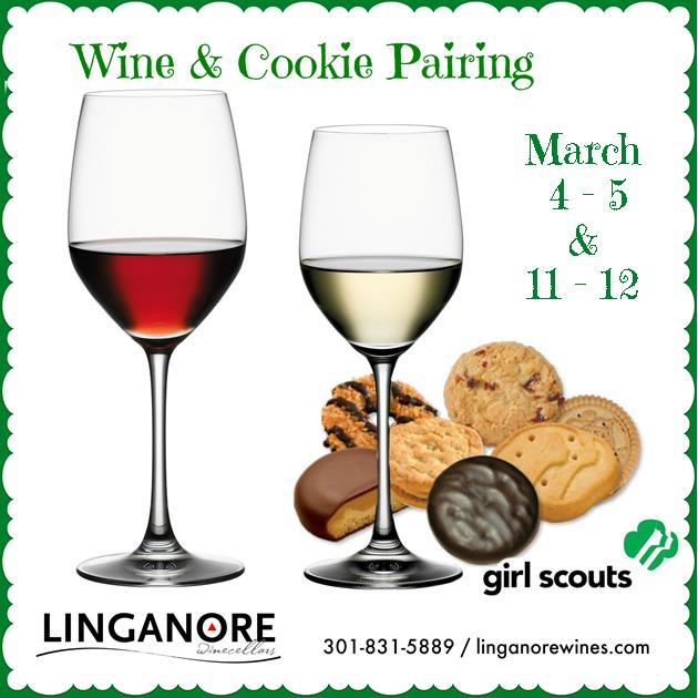 Girl Scout Cookie Time @ Linganore Winecellars | Mount Airy | Maryland | United States