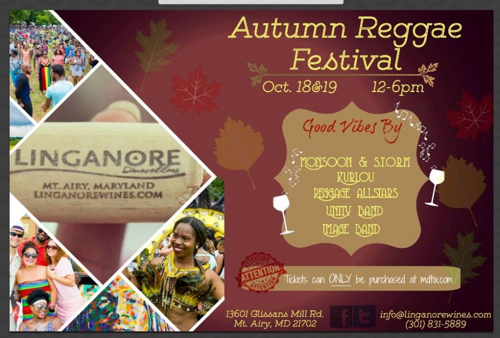 Autumn Reggae Festival @ Linganore Winecellars  | Mount Airy | Maryland | United States