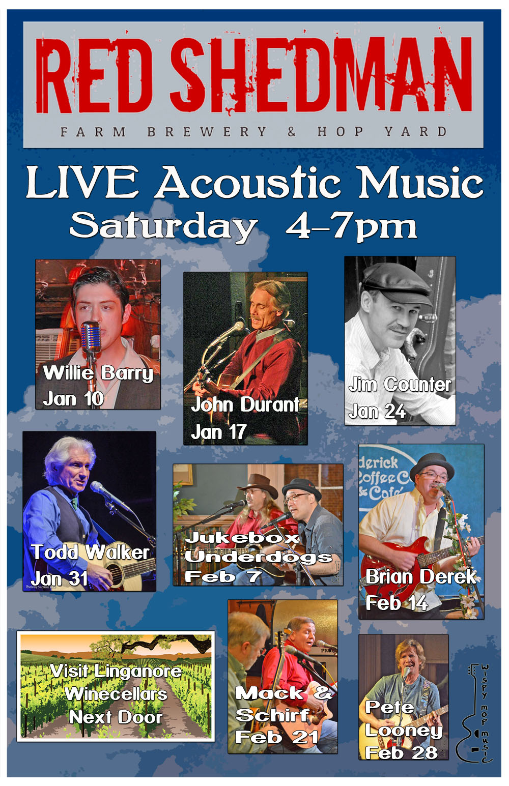 Live Music Saturdays @ Red Shedman Farm Brewery @ Linganore Winecellars | Mount Airy | Maryland | United States