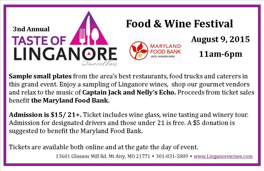 Taste of Linganore @ Linganore Winecellars | Mount Airy | Maryland | United States