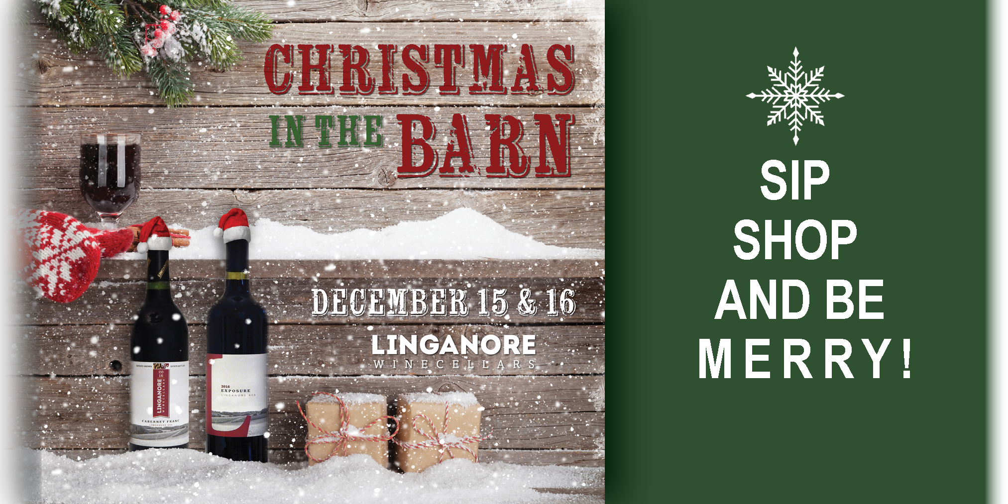 Xmas in the Barn.Slideshow