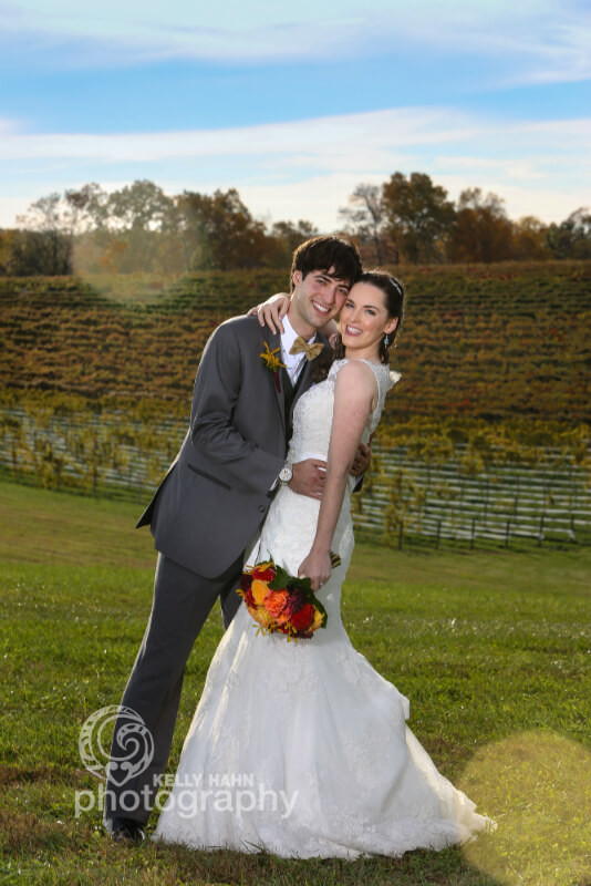 Outdoor Barn Wedding Venue at Linganore Wines Near Frederick MD