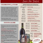 Jan 2016- Wine Festivals in Maryland