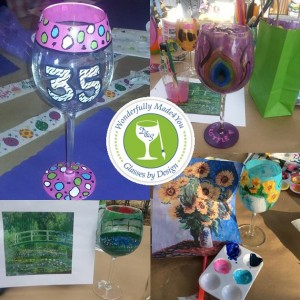 Paint A Wine Glass Party @ Linganore Winecellars | Mount Airy | Maryland | United States
