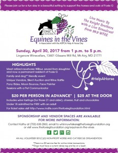 Equines In the Vines @ Linganore Winecellars | Mount Airy | Maryland | United States