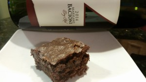 Brownie & Wine Recipe- Winery in Maryland