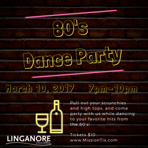 Hot 80's Dance Party - SOLD OUT! @ Linganore Wincellars | Mount Airy | Maryland | United States