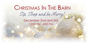 Xmas In The Barn- Things to Do Frederick MD