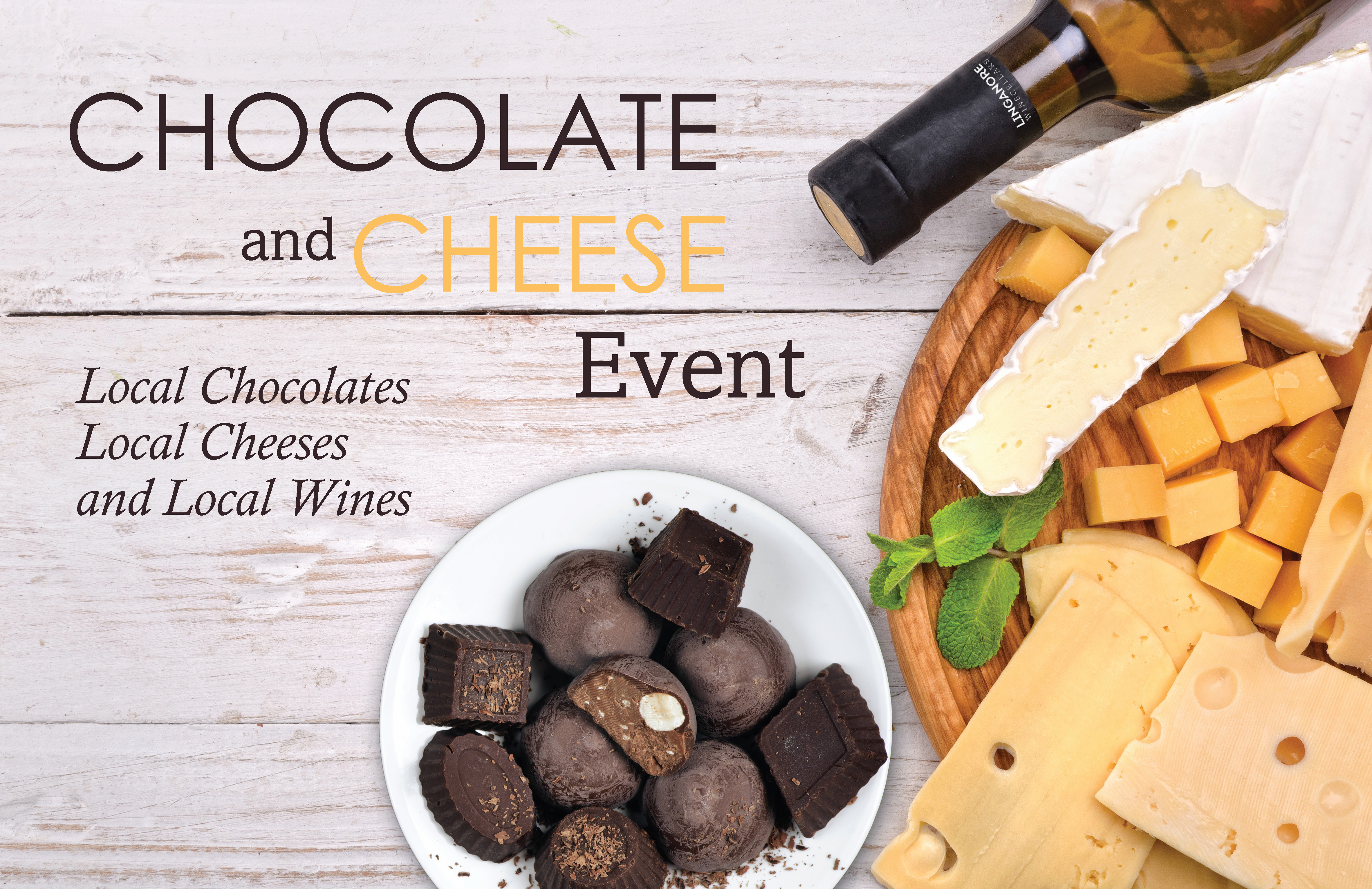 Chocolate and Cheese Event 2018- Wine Tasting Events- Vineyard things to do Frederick MD