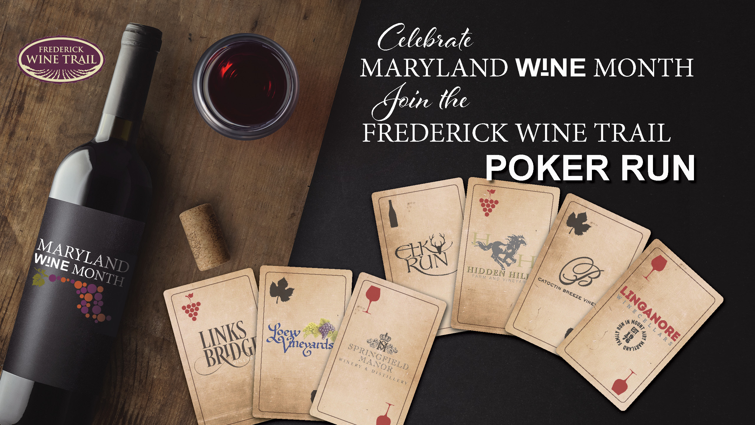 Poker Run Winery Event- Vineyard Frederick MD Things to Do