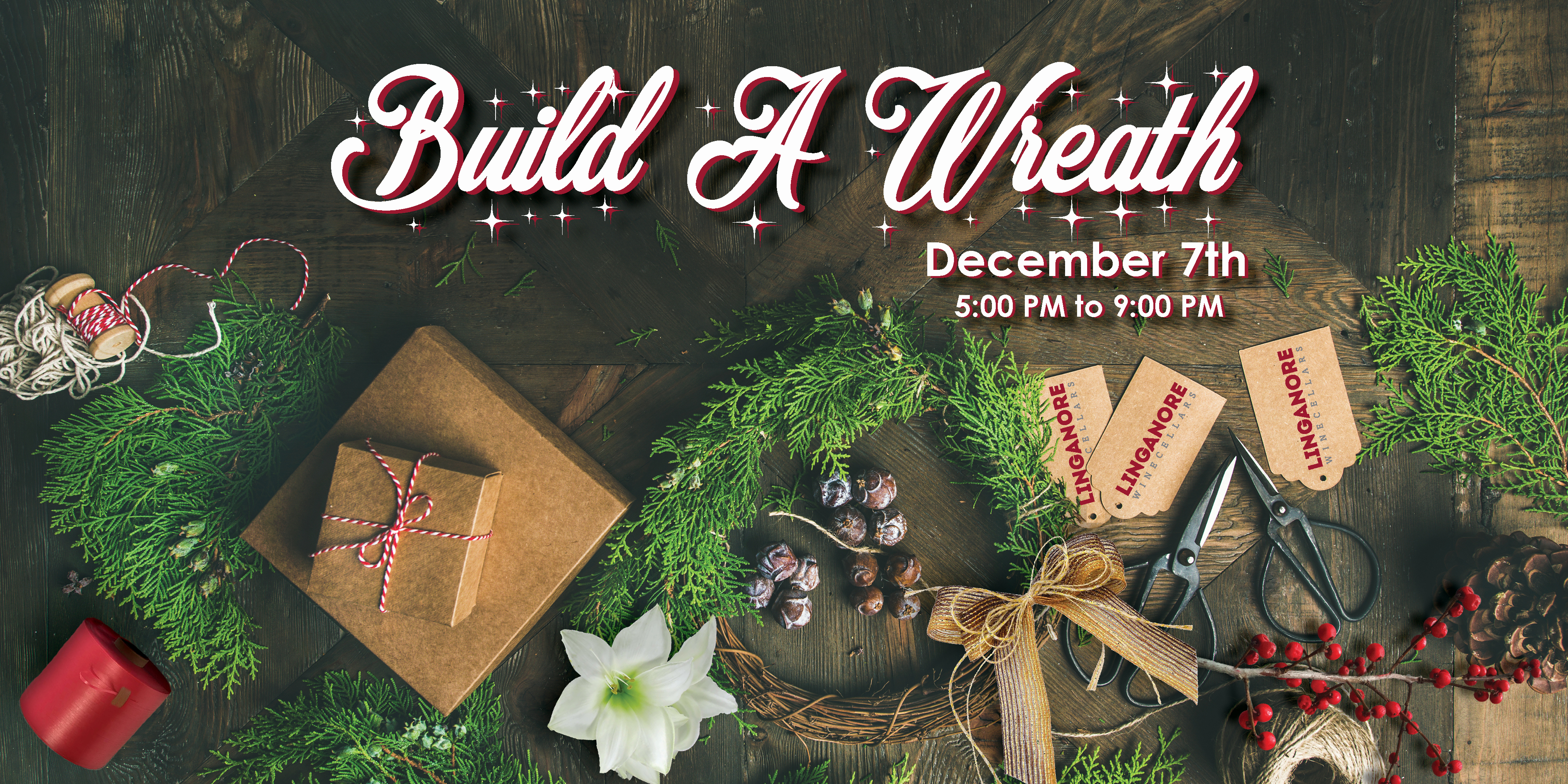 how to build a wreath
