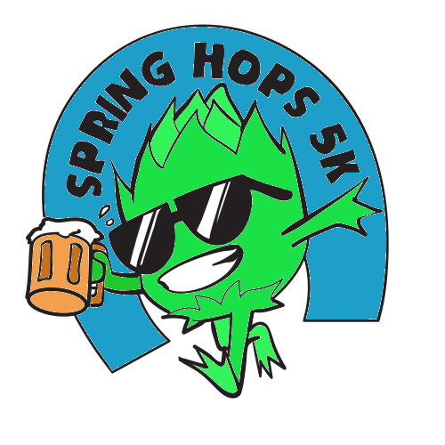 Sping hops 5k logo