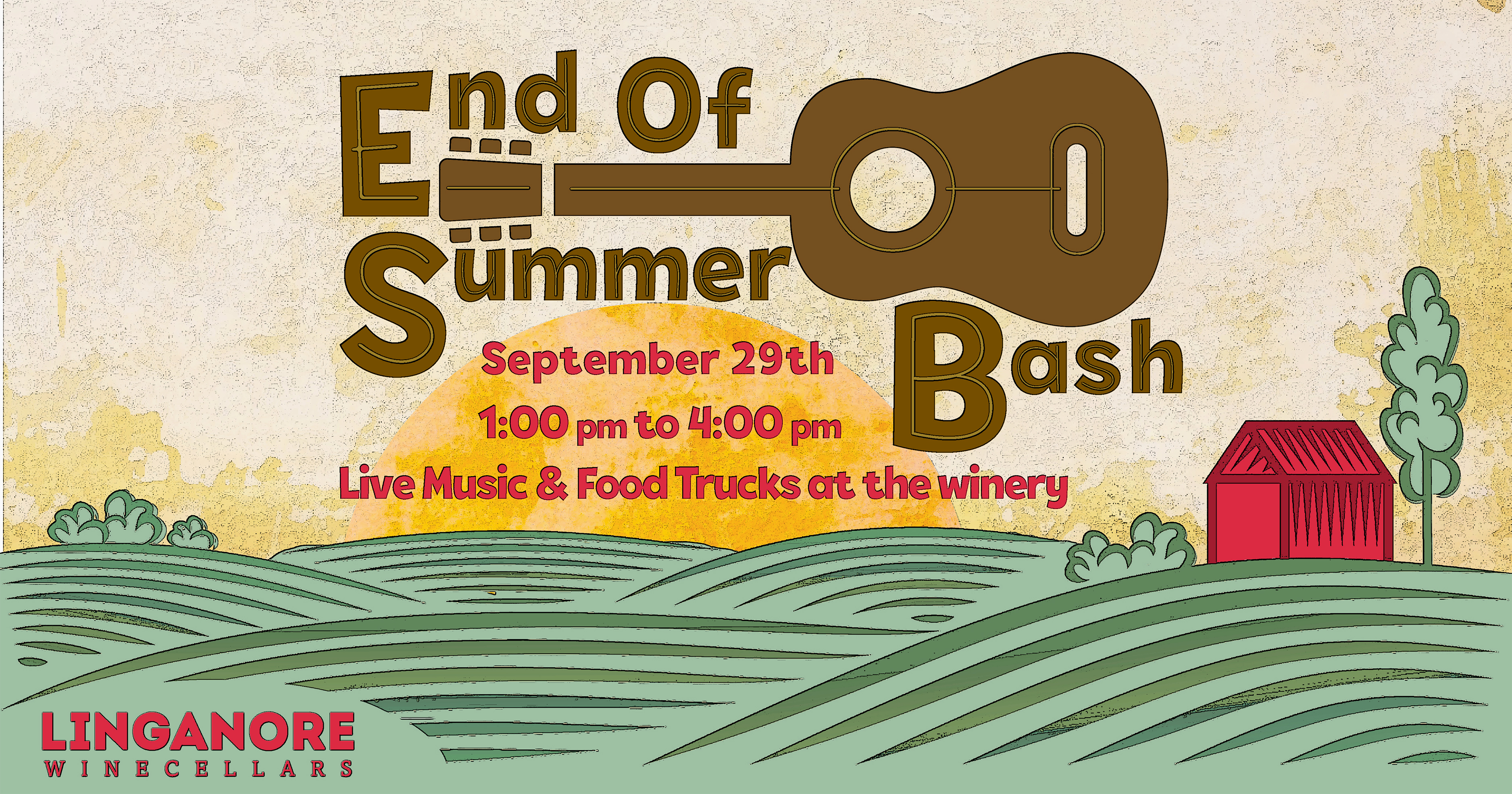 End of summer Bash Sept 29th